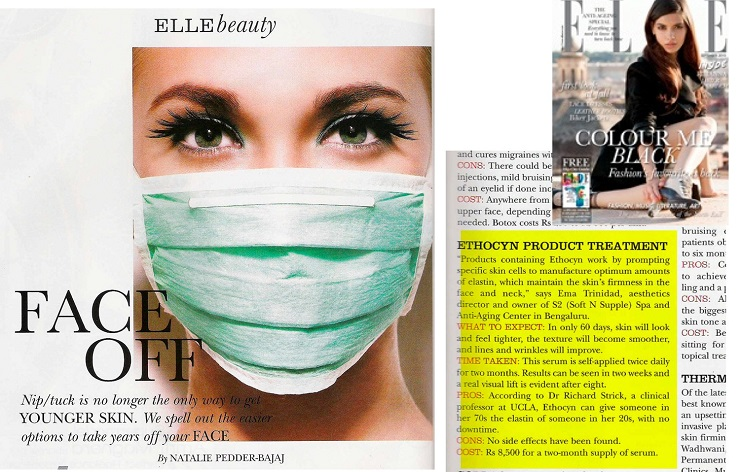Elle Magazine Review - Ethocyn740